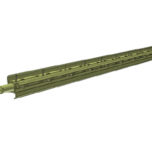 Brush Shaft Assembly - 1500 Pro